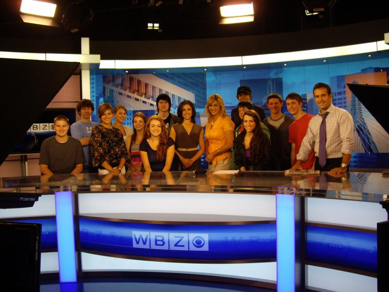 ORR students visit WBZ-TV news in Boston | Sippican